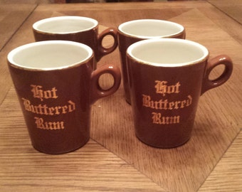 20% DISCOUNT with coupon code! Hall hot buttered rum cups. (Price is per cup, as in each)