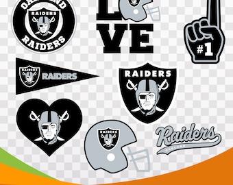 Oakland Raiders files, sport logo, vector files, svg American football