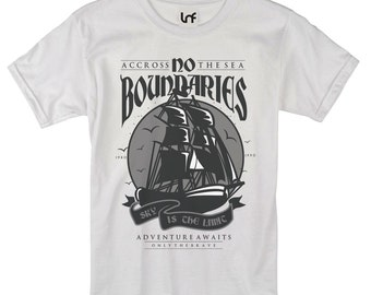 No Boundaries Nautical Men's T-Shirt (SB1093)