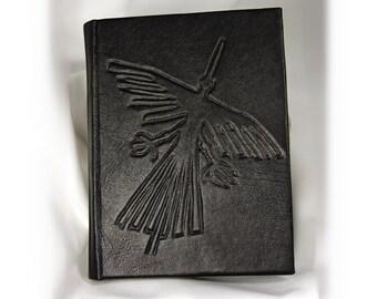Leather-bound journal Nazca