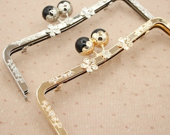 23.5cm purse frame purse clasp clutch frame metal purse frame purse making supplies wholesale,1pcs(hw)
