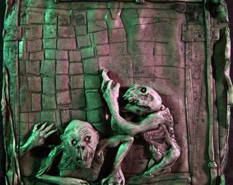 Pickman's Model, an original Lovecraftian sculpture