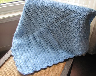 Baby Blanket for spring or fall handmade