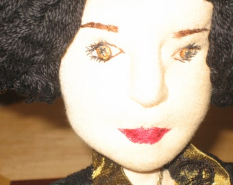 Catherine de Braganza, an historical art doll