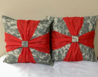 Army pillow case