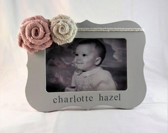 Baby girl gift Personalized baby gifts for girl, Personalized gifts for baby girl frame