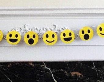 "6 Foot - Smiley Face Emoji Style #1 Banner - 3.5"" Emoji"