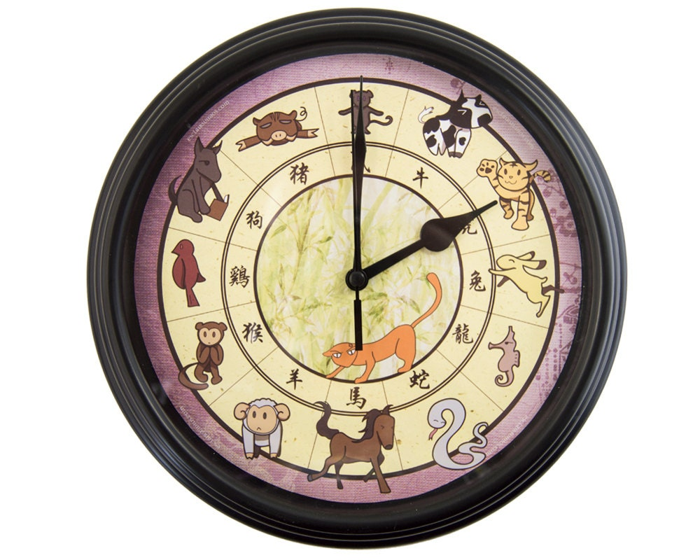 Fruits Basket Chinese Zodiac Wall Clock Anime Wall Clock