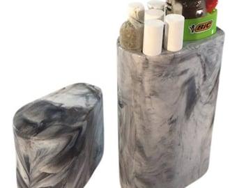 Smoke Space - Cigarette Case -Smoking Accessory - Lighter case - Gift - Lighter - Custom - Unique - (Colors)