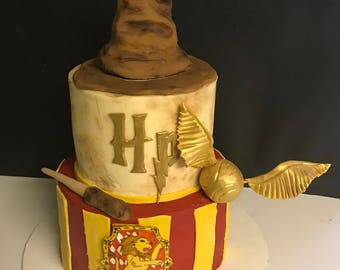 Harry potter cake Etsy