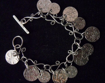 Bracelet - Artisan Nickel Silver Wirework & Metalsmithing 01