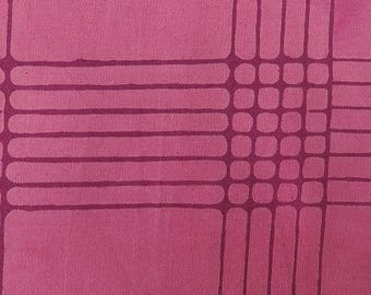 Plum Plaid from Chroma by Alison Glass for Andover Fabrics (AB-8132-E1) - 1/2 yard