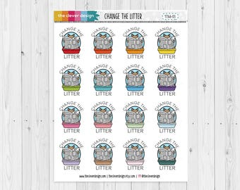 Change the Litter Planner Stickers   17346-03