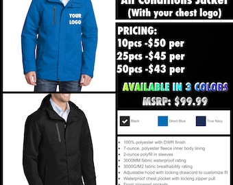 Port Authority All Conditions Jacket  ( with your logo embroidered )