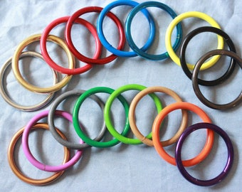 Colored Rings in YOUR size!