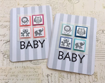 Baby Cards - Baby Boy Cards, Baby Girl Cards, Expecting Baby Cards, Welcome Baby Cards, Handmade Greeting Cards, Baby Shower Greeting Cards