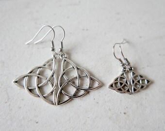 Celtic Earrings stainless steel