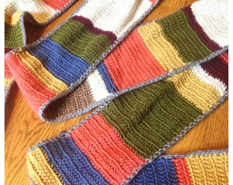 The Dr. Who Shada Scarf