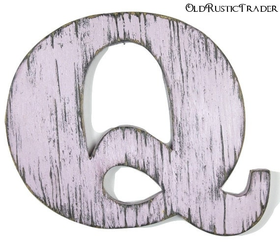 Q Home Decor: Rustic Alphabet Letter Q Home Decor 12 Inch Large Wooden Wall