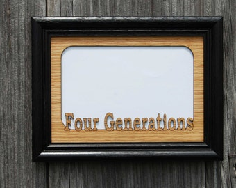 5x7 Generations Picture Frame, 3 Generations Frame, 4 Generations Frame, 5 Generations Frame, Family Picture Frame