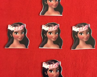 Set of 5 Moana Resin
