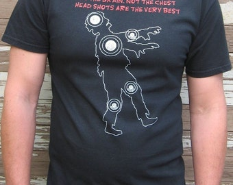 Zombie Shirt - Zombie Target Practice T-Shirt