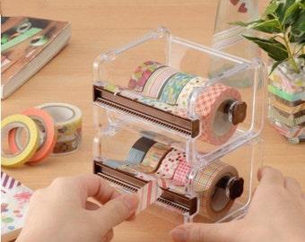 DIY Scrapbook Adhesive Masking Washi Tape Holder Box