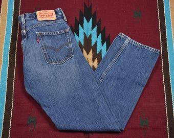 Vintage Levis 514 Blue Jeans
