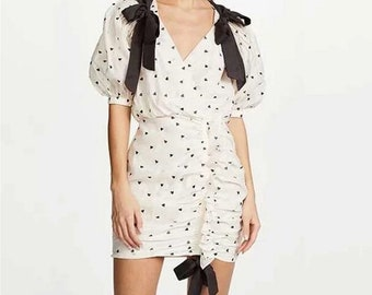 Heart tie dress