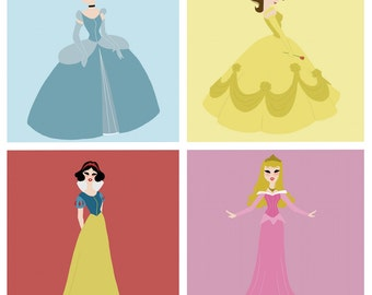Disney Princess Print (3 variations)