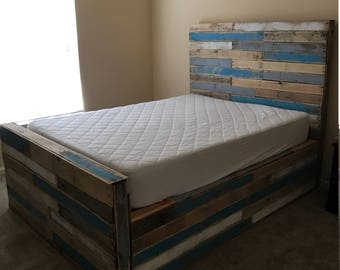 Great Pallet Bed