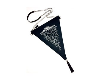 Abracadabra Crossbody Bag, Abracadabra Bag, Triangle Bag, Magical Bag