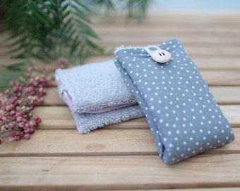 Cotton Wipe | Dark grey