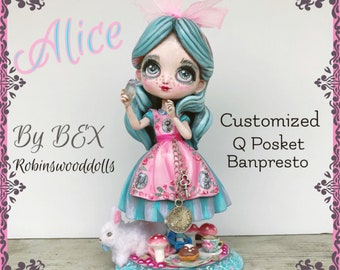 Alice in Winderland Customized Art Toy QPosket