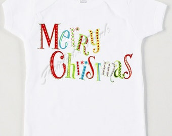 Christmas Shirt Kids - Merry Christmas Tee - Children Shirt Christmas - Sibling Shirt Retro - Custom Size Vintage Tshirt - Toddler Chistmas