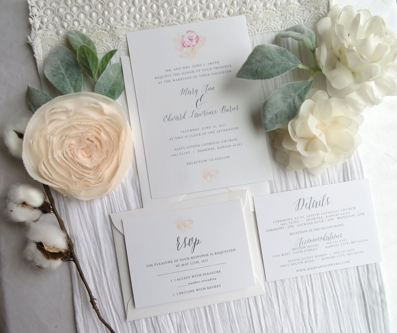 Wedding Invitation Template Wedding Invitations Wedding
