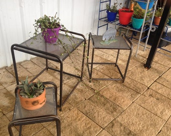Hand Made Nested Plant Stands  (Brand New Line)