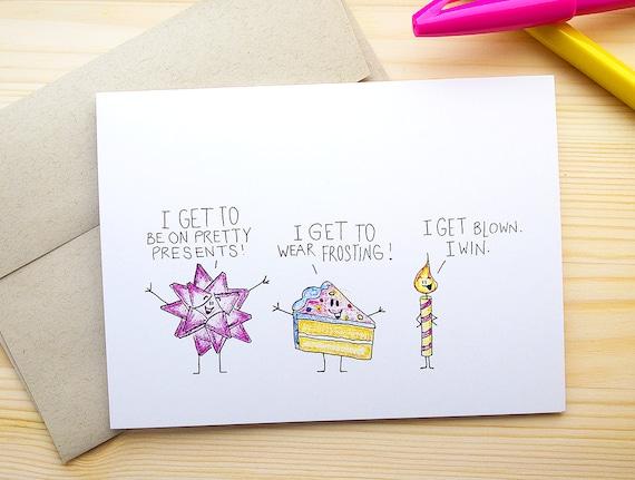 Funny birthday card for him dirty birthday card birthday like this item bookmarktalkfo Gallery