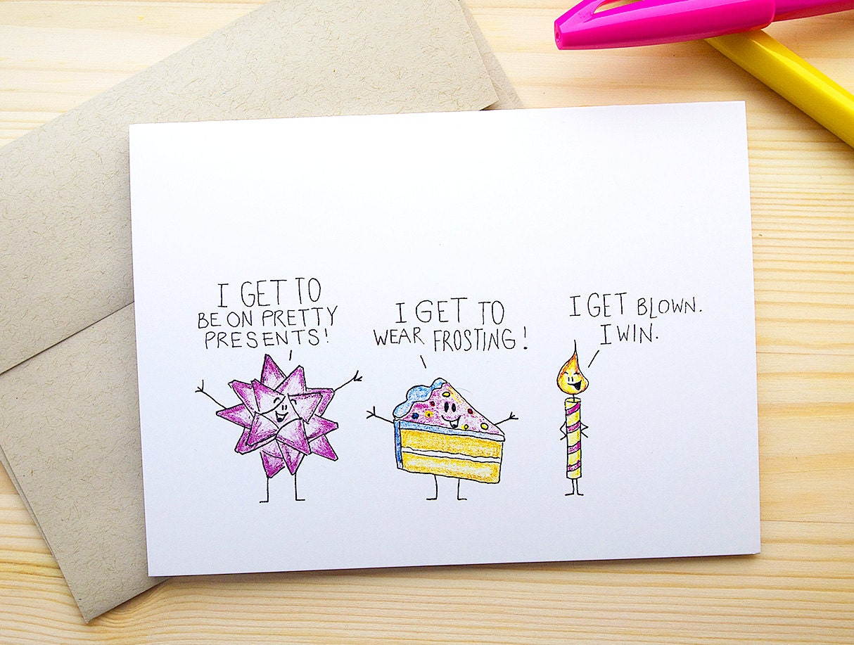 Funny Naughty Birthday Cards Naughty Funny Birthday Card For