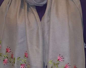 Embroidered Shawl,Wrap