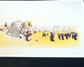 Vintage reproduction print by Edouard Vuillard