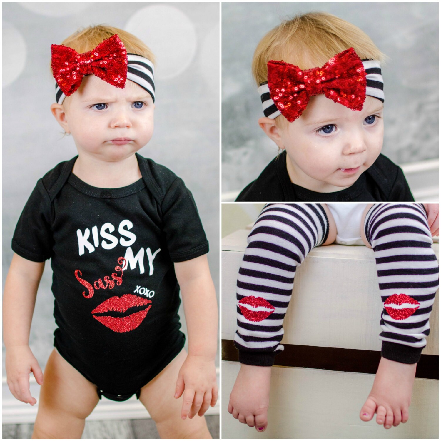 Funny Baby Girl Clothes New Mom Gift Sassy Baby Gift Mommy