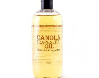 Canola (Rapeseed) Carrier Oil - 500ml