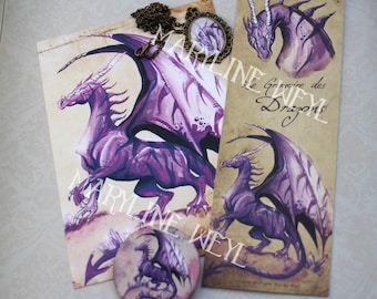 pretty magical thing 'purple dragon'