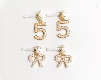 Pearl Cute Post Earrings
