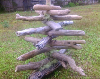 Driftwood Tree Beach Decor Tree Driftwood Art Woodworking Coastal Home Decor