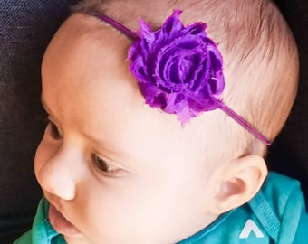 Baby girl accessory baby headband hair accessory flower Headband newborn photo prop headband baby flower baby shower gift baby girl headband