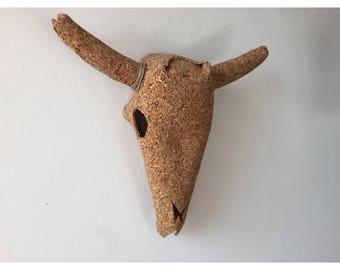Cow/Steer Skull - Cork