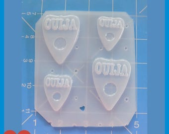 4 New Ouija Board Planchettes Handmade Plastic Mold
