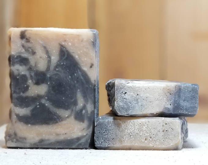 "Nag Champa Scented ""Falstaff"" Soap Goddess Loves Shakespeare Soap, light scent, yogurt soap, free shipping"